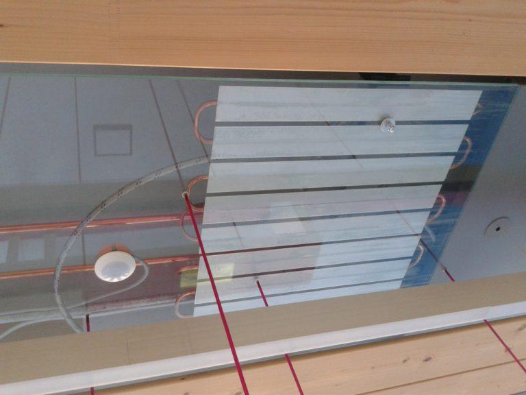 Le chauffage au plafond à eau